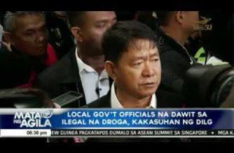 Local gov't officials na dawit sa iligal na droga, kakasuhan ng DILG