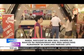 MMDA to mall owners: Exercise parking management