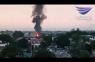WATCH: Fire breaks out in Quezon City