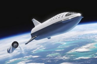 "This artist's illustration courtesy of SpaceX obtained November 20, 2018, shows the SpaceX BFR(Big Falcon Rocket)rocket passenger spacecraft at stage seperation. - SpaceX boss Elon Musk has decided that his next rocket, which will go around the moon and eventually reach Mars someday, will be called ""Starship"".""Renames BFR Starship,"" tweeted Elon Musk the night of November 19, 2018. The BFR was until now the code name of this mega-rocket, under development, the initials supposed to mean Big Falcon Rocket, although SpaceX never confirmed this name officially. (Photo by HO / SPACEX / AFP) / RESTRICTED TO EDITORIAL USE - MANDATORY CREDIT ""AFP PHOTO /SPACEX/HANDOUT"" - NO MARKETING NO ADVERTISING CAMPAIGNS - DISTRIBUTED AS A SERVICE TO CLIENTS"