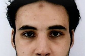"This handout picture released by French Police on December 12, 2018 in a call for witnesses to come forward, shows a man identified as Cherif Chekatt suspected of being the gunman involved in the Strasbourg shooting. - Hundreds of police and anti-terror forces hunted on December 12, 2018 for a gunman who shot dead several people and wounded a dozen in central Strasbourg. (Photo by Handout / FRENCH POLICE / AFP) / RESTRICTED TO EDITORIAL USE - MANDATORY CREDIT ""AFP PHOTO / FRENCH POLICE / HO"" - NO MARKETING NO ADVERTISING CAMPAIGNS - DISTRIBUTED AS A SERVICE TO CLIENTS ---"