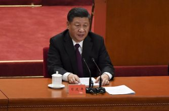 "China's President Xi Jinping gives a speech during a celebration meeting marking the 40th anniversary of China's reform and opening up at the Great Hall of the People in Beijing on December 18, 2018. (Photo by WANG Zhao / AFP) / ""The erroneous mention[s] appearing in the metadata of this photo by WANG Zhao has been modified in AFP systems in the following manner: [correcting Source to AFP instead of Pool]. Please immediately remove the erroneous mention[s] from all your online services and delete it (them) from your servers. If you have been authorized by AFP to distribute it (them) to third parties, please ensure that the same actions are carried out by them. Failure to promptly comply with these instructions will entail liability on your part for any continued or post notification usage. Therefore we thank you very much for all your attention and prompt action. We are sorry for the inconvenience this notification may cause and remain at your disposal for any further information you may require."""