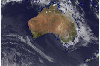 Courtesy Australian Government's Bureau of Meteorology