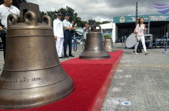 Palace: President Duterte's strong political will made return of Balangiga bells possible