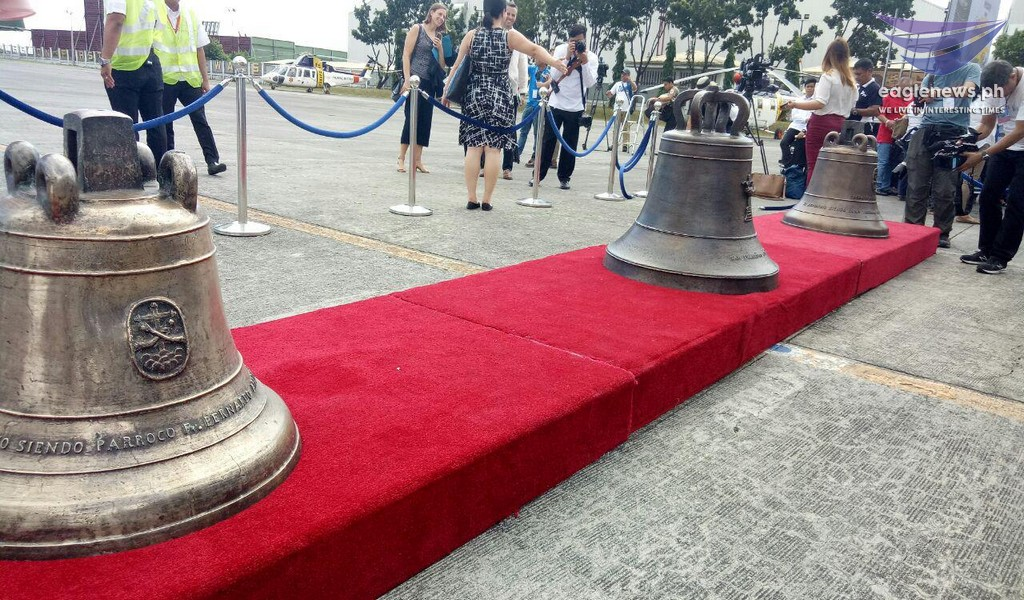 News in Photos: Balangiga bells now back in the Philippines