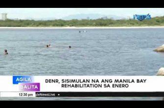 DENR to start Manila Bay rehab in January 2019