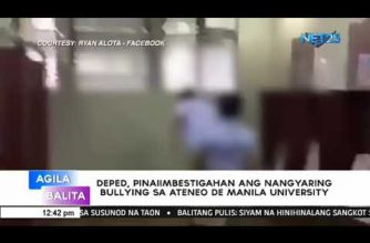 DepEd asks Ateneo University to conduct probe on bullying incidents in viral videos