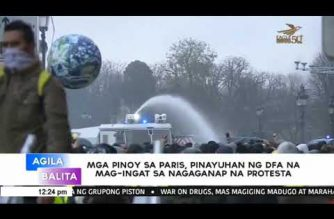 DFA urges Filipinos in France to take extra precaution amid violent protests in Paris