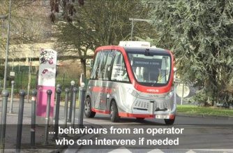 """Driverless"" shuttle launched in northern France"