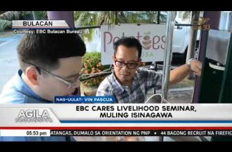 EBC Cares Livelihood seminar, isinagawa sa Baliwag, Bulacan