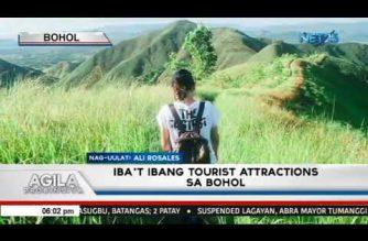 Look: Iba't-ibang tourist attractions na maaaring bisitahin sa probinsya ng Bohol