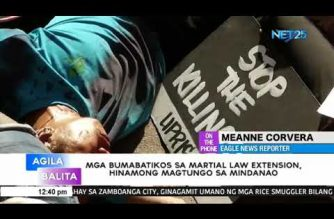 Martial law critics dared to go to Mindanao