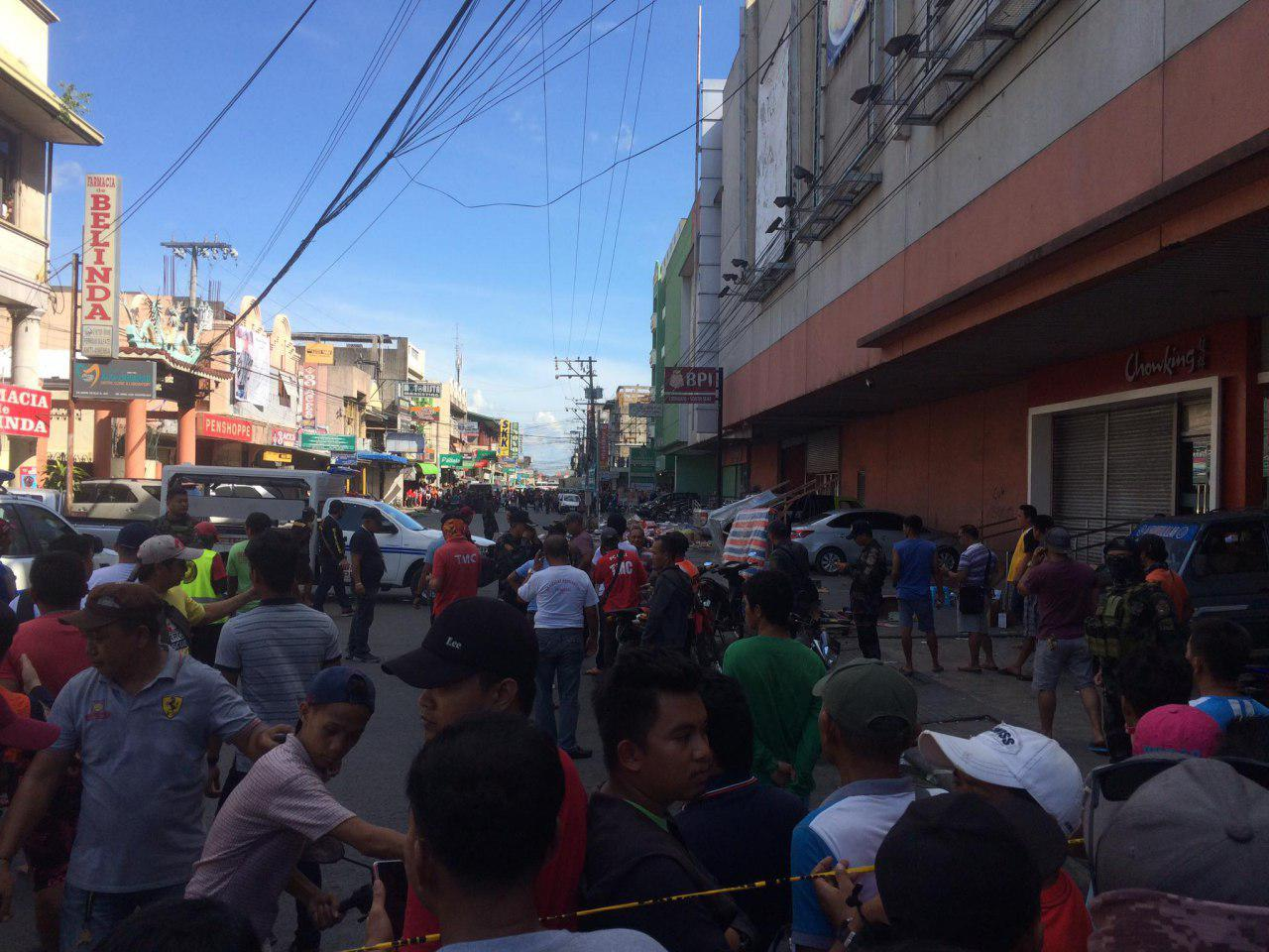In photos: Several hurt in IED blast in Cotabato City