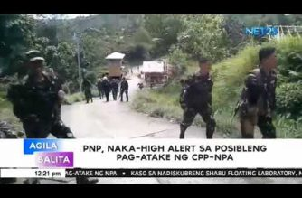 PNP on high alert after CPP declaration of intensified offensives following ML extension in Mindanao