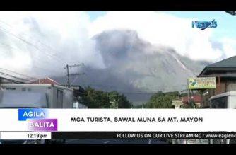 Posibilidad ng biglaang pagputok ng Mt. Mayon, ibinabala ng PHIVOLCS
