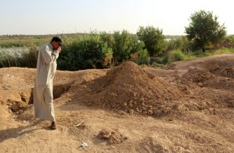 The UN says it has documented more than 200 mass graves in parts of Iraq once held by the Islamic State group.