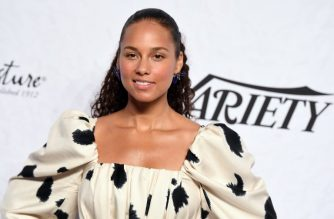 Alicia Keys attends Variety's Power of Women: New York at Cipriani Wall Street on April 13, 2018 in New York City. (Photo by ANGELA WEISS / AFP)