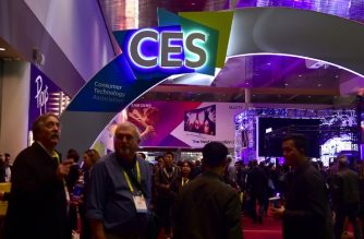 (FILES) In this file photo taken on January 7, 2017, attendees walk the halls on day three of the 2017 Consumer Electronic Show (CES) in Las Vegas, Nevada. - Amid trade wars, geopolitical tensions and a decline in public trust, the technology sector is seeking to put its problems aside with the Consumer Electronics Show, the annual extravaganza showcasing futuristic innovations. The January 8 January 11, 2019 Las Vegas trade event offers a glimpse into new products and services designed to make people's lives easier, fun and more productive, reaching across diverse sectors such as entertainment, health, transportation, agriculture and sports. (Photo by Frederic J. BROWN / AFP)