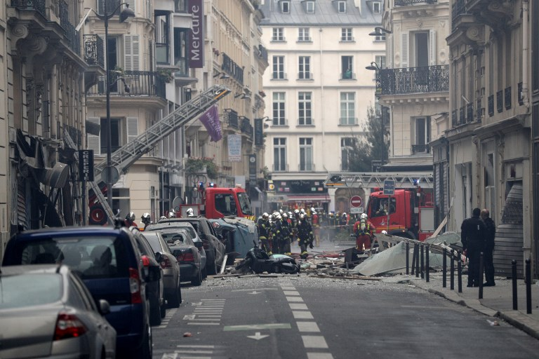 UPDATED: Several injured as massive explosion rips through Paris bakery