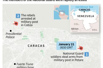 Venezuela military group arrested after call to disavow Maduro