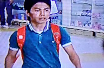 This man, according to the police, left the improvised explosive device that exploded in the South Seas Mall on Dec. 31./PNP/