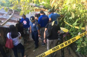 Police recovered parts of the gun allegedly used in the killing of Rep. Rodel Batocabe from a septic tank found in a house of one of the suspects in Camarines Sur./PNP/