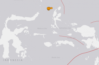 Strong 6.6-magnitude quake hits off Indonesia