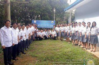 The New Era University University College of Agriculture in Pinugay, Baras, Rizal formally opened on Monday, January 7, 2018.   (Photo courtesy NEU Multimedia Office)