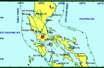 A 3.2-magnitue quake struck Laguna on Friday, Jan. 12./PHIVOLCS/