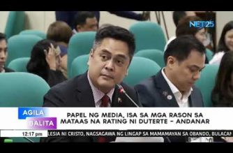 Andanar: Media plays an important role behind Pres. Duterte's gain in trust, performance ratings