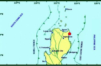 A 3.0-magnitude earthquake struck Cagayan on Thursday, Jan. 31, the Philippine Institute of Volcanology and Seismology said./PHIVOLCS/