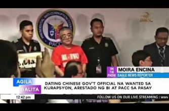 Chinese fugitive nabbed in PHL