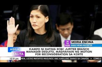 Deguito to appeal Makati court decision convicting her of money laundering