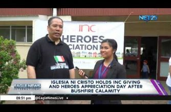 Iglesia Ni Cristo holds INC Giving and Heroes' Appreciation Day after bushfire calamity