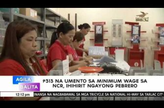 Labor group asks gov't for Php 313 wage increase in NCR