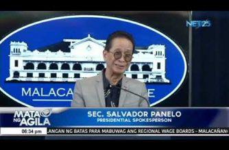 Malacañang, tiniyak na maayos ang kalusugan ni Pangulong Duterte