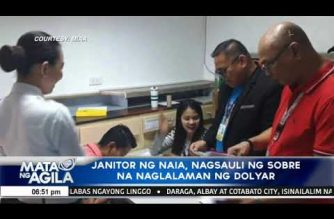 """NAIA janitor returns envelope containing """"significant amount of dollar bills"""""""
