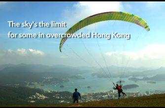 Paragliding popularity soars as Hongkongers seek urban release