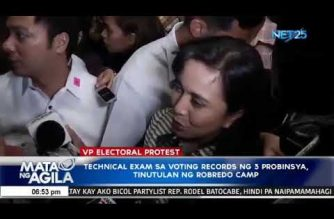 Robredo wants SC to junk Marcos' request for an examination of voting records in three additional provinces