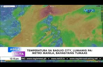 Temperature in Baguio City drops to 12.5 degrees C; Metro Manila also experiences colder mornings