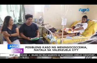 Valenzuela gov't: Girl believed to have contracted meningococcemia tests negative for disease
