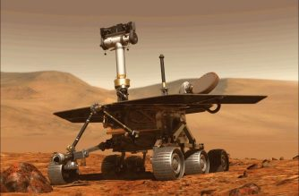 """This computer generated image obtained on August 31, 2018 shows the Opportunity rover of NASA part of the Mars planet exploration program. - NASA's Opportunity rover has been silent since June 10, when a planet-encircling dust storm cut off solar power for the nearly-15-year-old rover. Now that scientists think the global dust storm is """"decaying"""" -- meaning more dust is falling out of the atmosphere than is being raised back into it -- skies might soon clear enough for the solar-powered rover to recharge and attempt to """"phone home."""" (Photo by - / NASA / AFP) / RESTRICTED TO EDITORIAL USE - MANDATORY CREDIT """"AFP PHOTO / NASA """" - NO MARKETING - NO ADVERTISING CAMPAIGNS - DISTRIBUTED AS A SERVICE TO CLIENTS"""