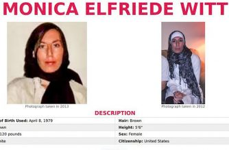 """This image released on February 13, 2019 shows the Missing Person page of the FBI website for Monica Elfriede Witt, 39, a former US air force counterintelligence officer. - The US Justice Department charged the former air force intelligence officer on February 13, 2019 with spying for Iran, saying she exposed a US agent and helped the Revolutionary Guard develop cyber targets in the US military. US officials said Monica Witt, who worked for years in US Air Force counterintelligence, had an """"ideological"""" turn against her country and exposed US intelligence operations against Tehran. (Photo by HO / FBI / AFP) / RESTRICTED TO EDITORIAL USE - MANDATORY CREDIT """"AFP PHOTO / FBI """" - NO MARKETING - NO ADVERTISING CAMPAIGNS - DISTRIBUTED AS A SERVICE TO CLIENTS / """"The erroneous mention[s] appearing in the metadata of this photo has been modified in AFP systems in the following manner: [Byline : HO] instead of [Byline : Eric BARADAT]. Please immediately remove the erroneous mention[s] from all your online services and delete it (them) from your servers. If you have been authorized by AFP to distribute it (them) to third parties, please ensure that the same actions are carried out by them. Failure to promptly comply with these instructions will entail liability on your part for any continued or post notification usage. Therefore we thank you very much for all your attention and prompt action. We are sorry for the inconvenience this notification may cause and remain at your disposal for any further information you may require."""""""