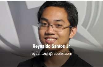 Photo from Rappler website/  https://www.rappler.com/authorprofile/reynaldo-santos-jr