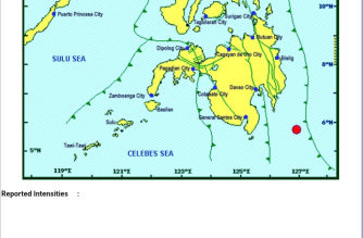 A 3.1-magnitude earthquake struck Davao Oriental on Thursday, Feb. 21./PHIVOLCS/
