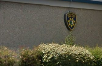 (A part of the facade of the Vallejo Police Department.  Photo part of Google image capture for Vallejo Police Department/Courtesy Google image capture)