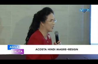 Acosta hindi magre-resign; iginiit na may under distribution ng measles vaccines
