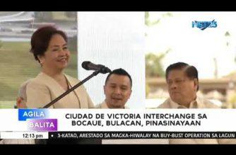 Ciudad de Victoria Interchange sa Bocaue, Bulacan, pinasinayaan