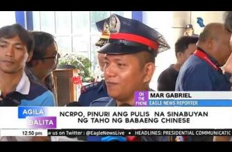 "For his patience, PNP honors policeman in ""taho"" incident at MRT station"