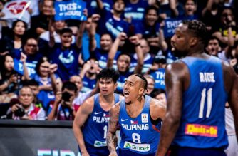 Gilas Pilipinas survived Japan on Sunday to solidify its standing in second place in Group B./Fiba website/